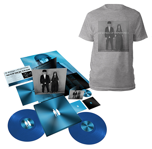 Songs of Experience Extra Deluxe Boxset + Photo Grey T-shirt