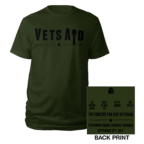 VetsAid Green Tee