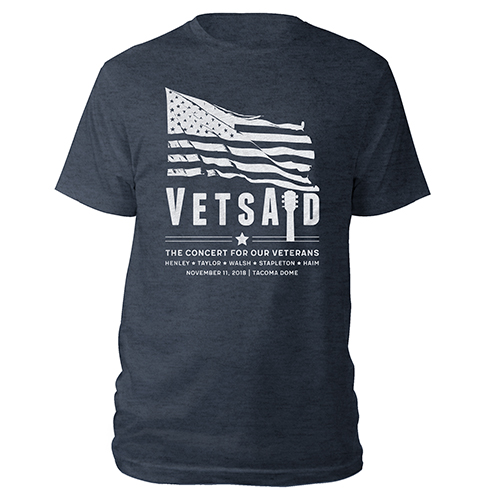 VetsAid 2018 Flag Tee