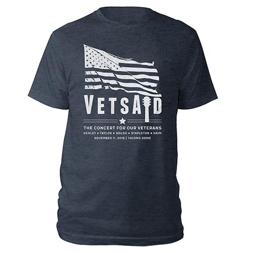 VetsAid 2018 Flag Tee