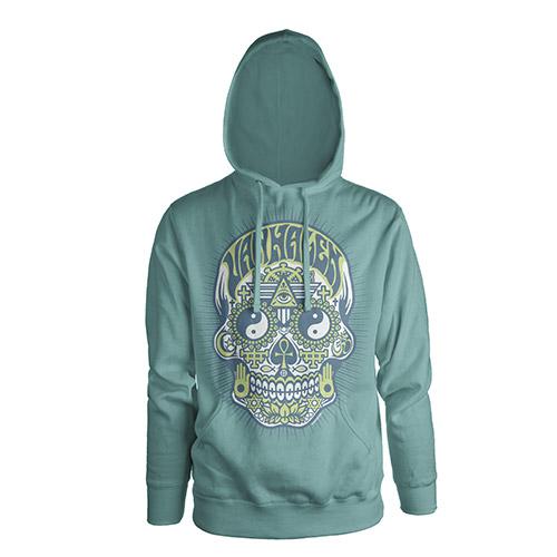 Skull Ladies Pullover Hoodie