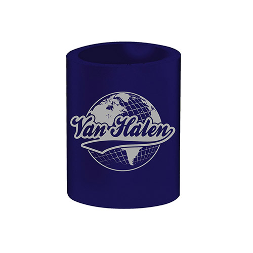Globe Can Coozie Navy