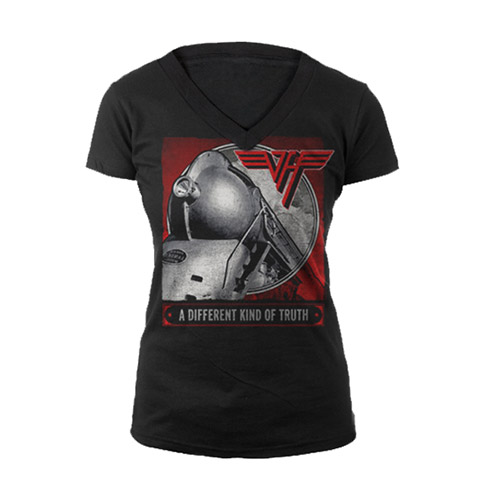 A Different Kind Of Truth Ladies V-Neck