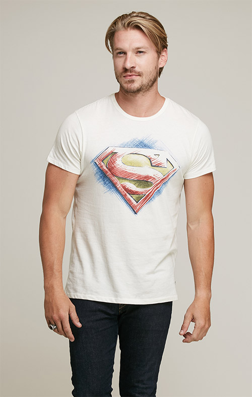 Superman Short Sleeve Tee