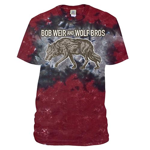 Bob Weir and Wolf Bros. Tie Dye Tee