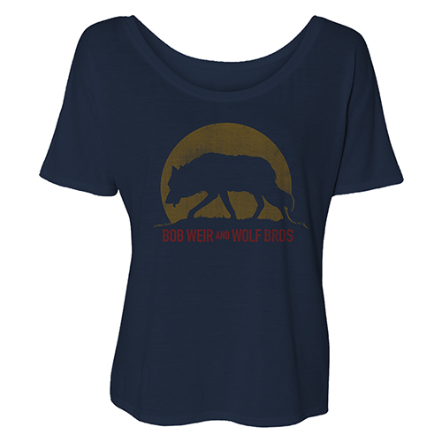 Bob Weir and Wolf Bros. Ladies Slouchy Tee