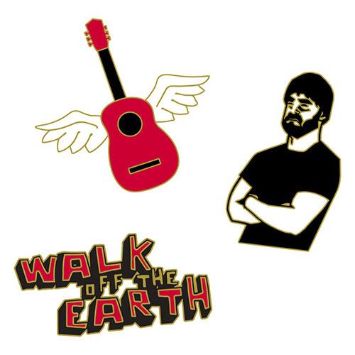 Walk Off The Earth Enamel Pin Set