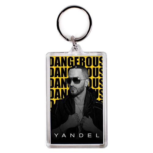 Dangerous 2016 Tour Keychain