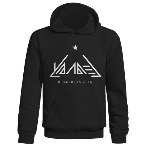 Dangerous Tour 2016 Pull-Over Hooded Sweatshirt