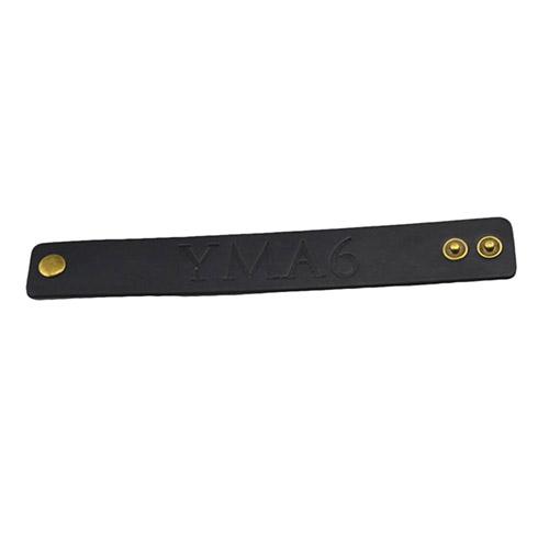 Leather Press On Wristband