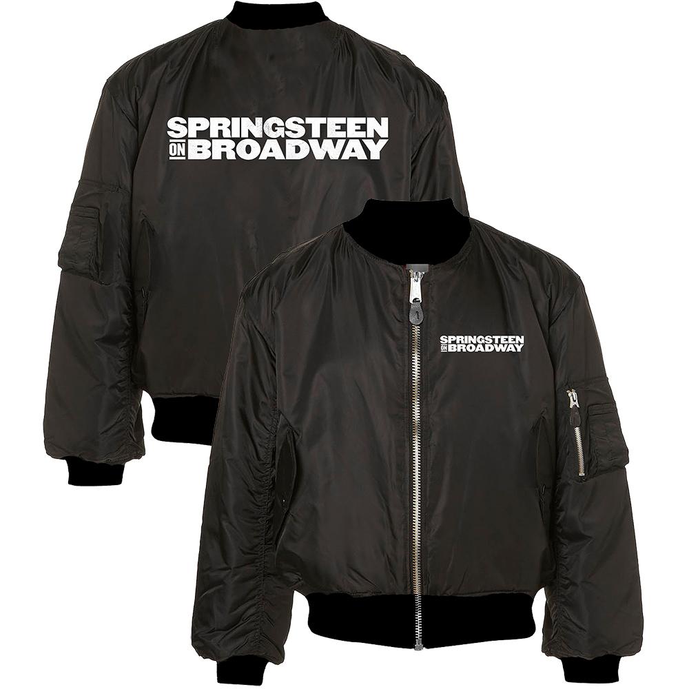 Bruce Springsteen Official Store | Springsteen on Broadway Bomber Jacket