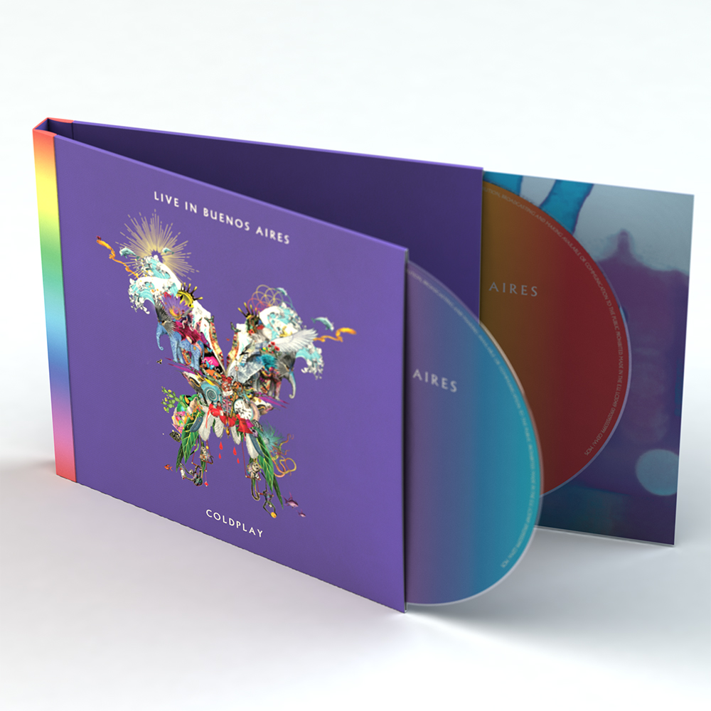 Coldplay Official Store | Live In Buenos Aires Album (2CD)