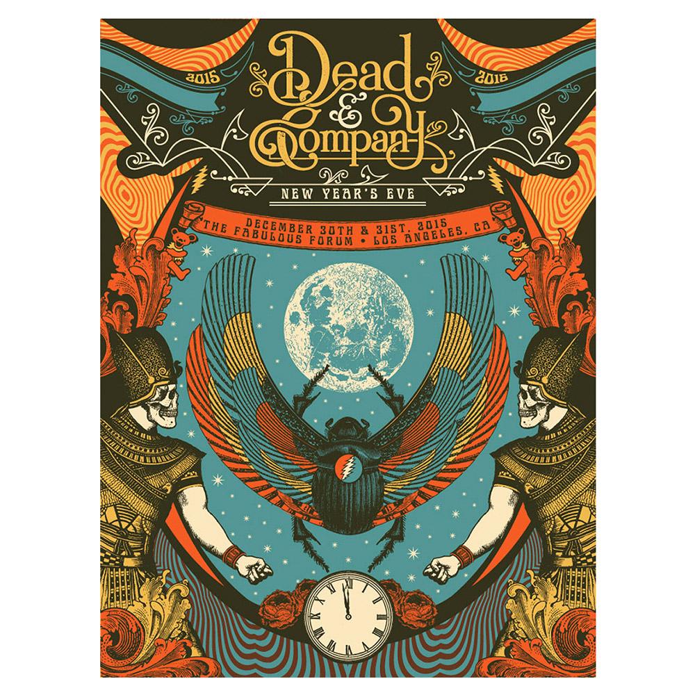 Dead & Company Official Store   LA Event Poster