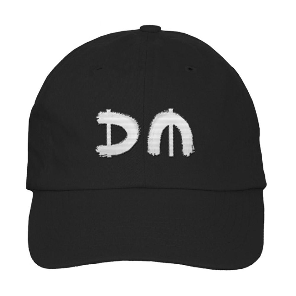 f9f2dc6ed29 Silver DM Red Logo Black Dad Hat