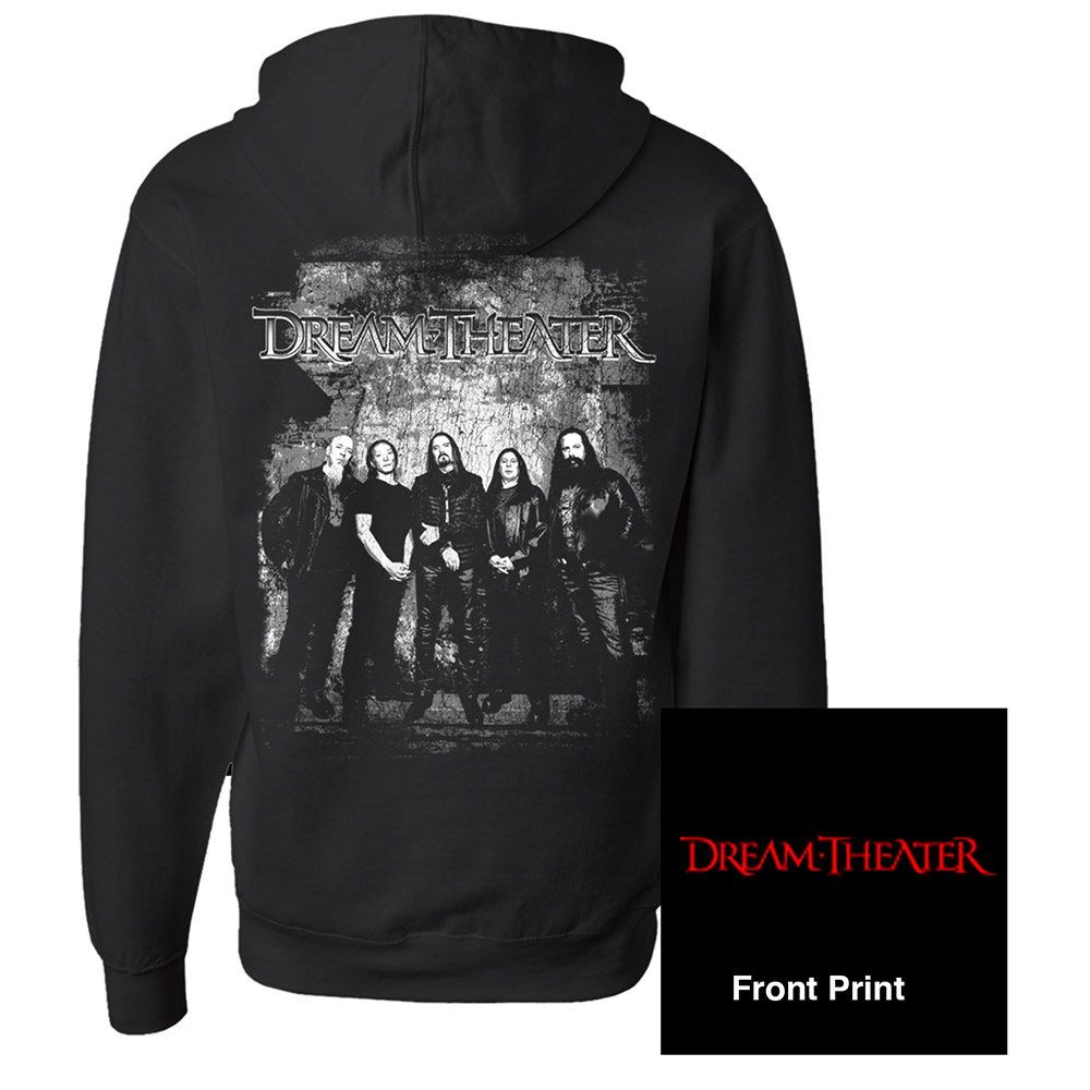 Dream Theater Official Store Favorite Band Photo Pullover Hoodie