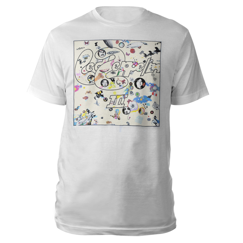Led zeppelin official store led zeppelin iii album white t shirt led zeppelin iii album white t shirt biocorpaavc