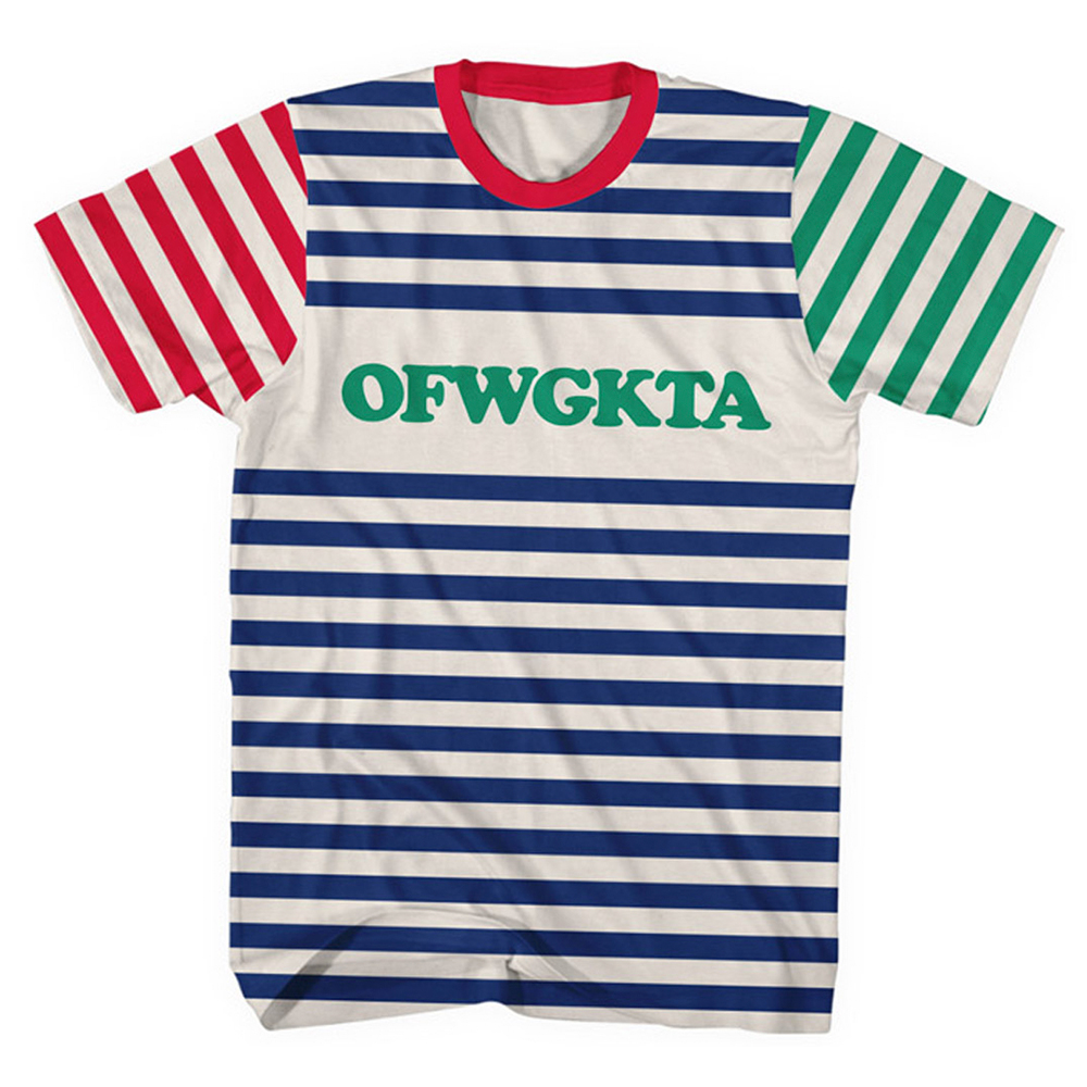 odd future official store ofwgkta colorblock tee