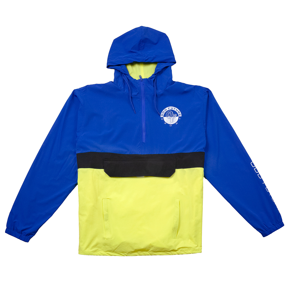 d1d77614be ODD FUTURE SPORT ANORAK JACKET