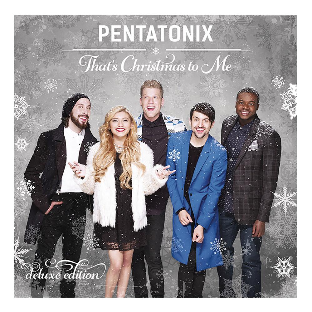 Pentatonix Christmas Album.Pentatonix Official Store That S Christmas To Me Deluxe Cd