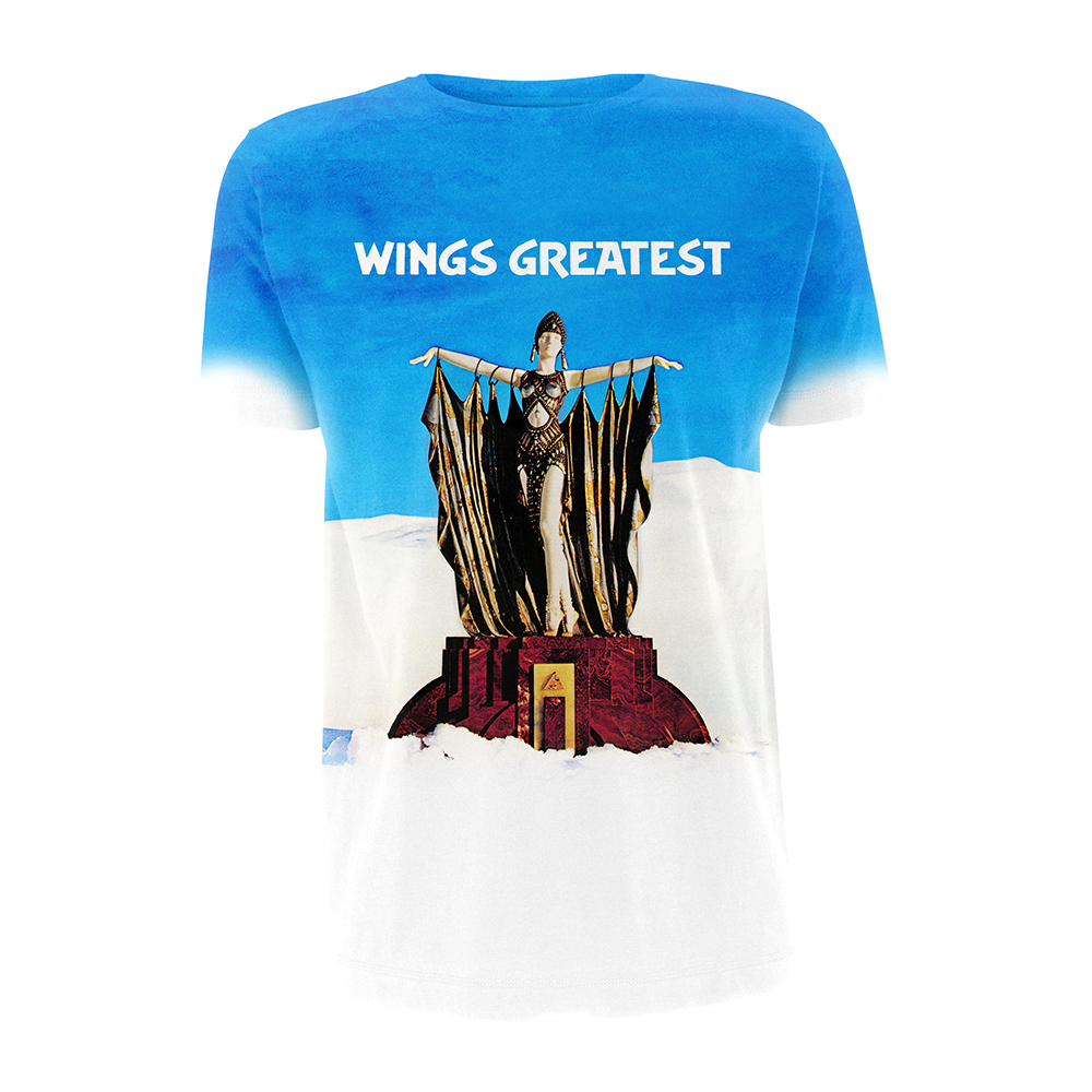 142826327 Wings Greatest Sublimation T-shirt - Paul McCartney Official Store