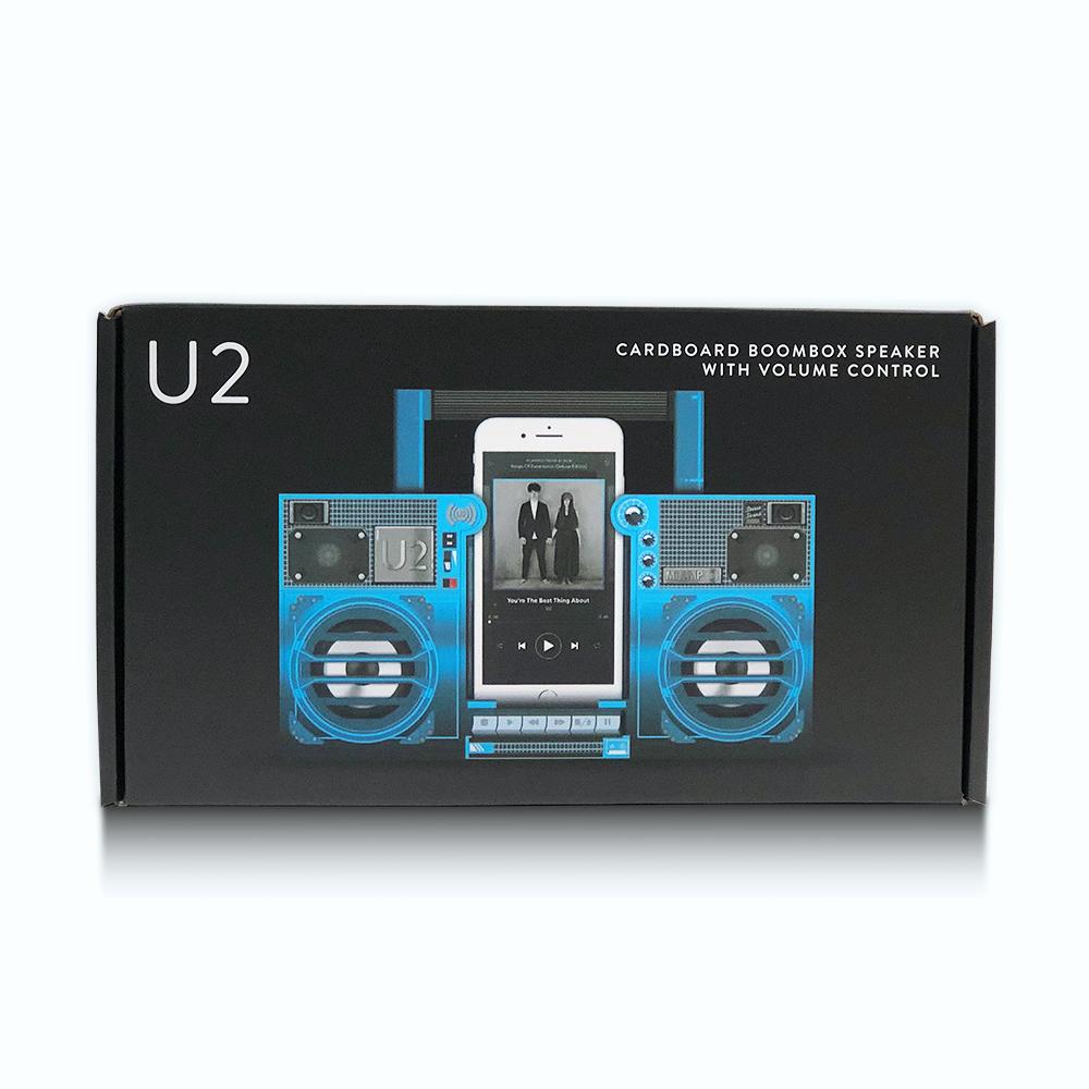 U2 Official Store   U2 Songs of Experience Boombox Speaker