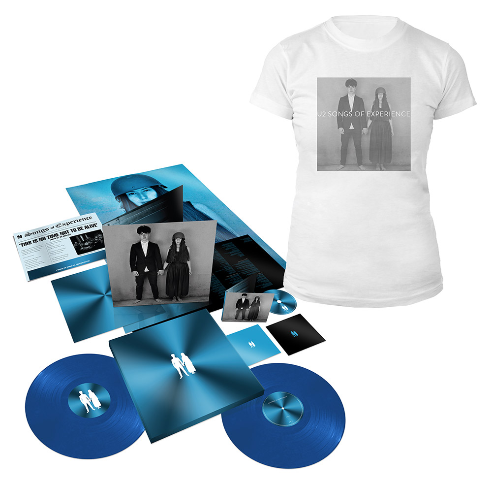 U2 Official Store | Songs of Experience Extra Deluxe Boxset + Photo White  Babydoll