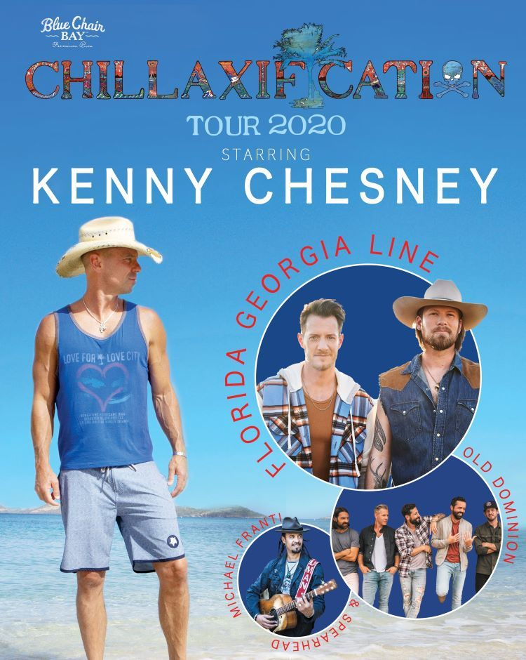 Kenny Chesney Chillaxification Tickets Go On Sale