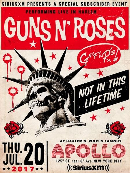 Guns N' Roses > News > Guns N' Roses Live at the Apollo, July 20