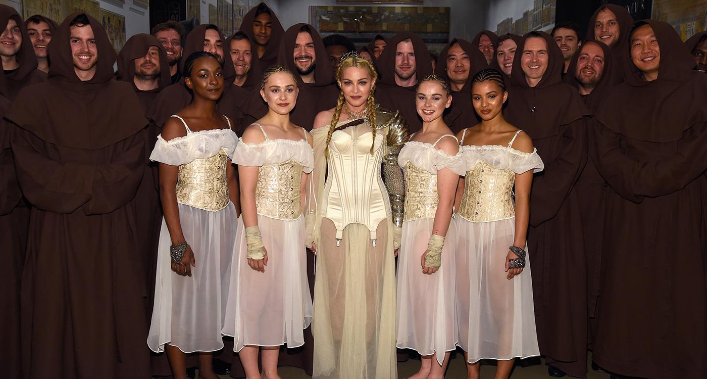 madonna news madonna at the 2018 met gala