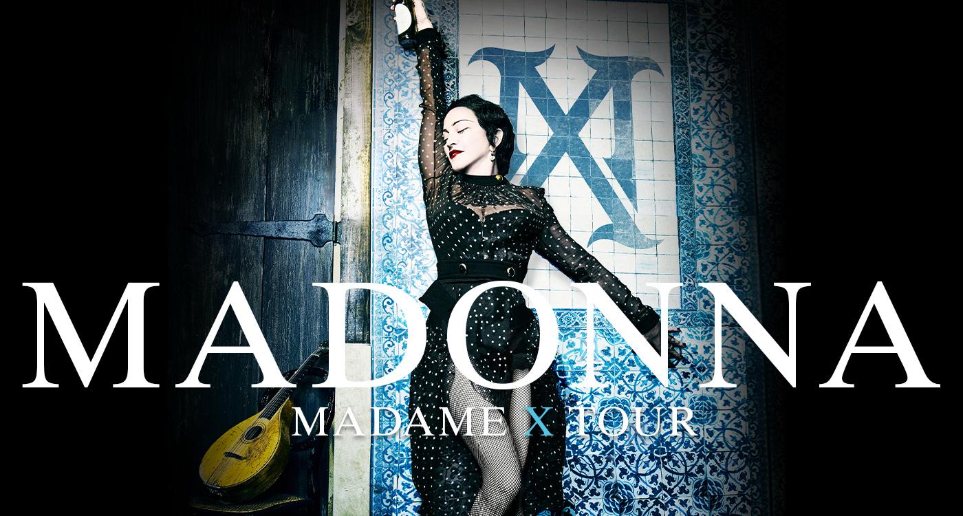 Risultati immagini per madonna elenco date tour 2019-20