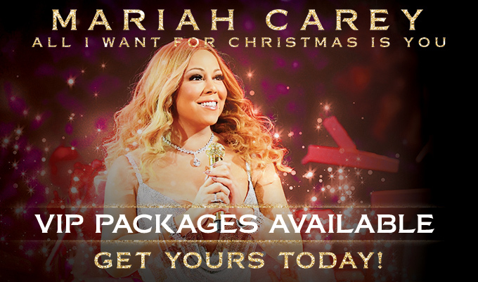 we are pleased to announce that official vip packages for mariahs all i want for christmas is you concert series are now on sale