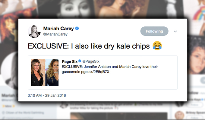 456ca275a37 MariahCarey > News > Mariah just proved she's the Queen of Twitter