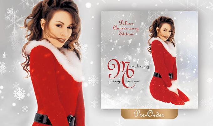 Mariah Carey Christmas Album Cover.Mariahcarey News Pre Order Merry Christmas 25th