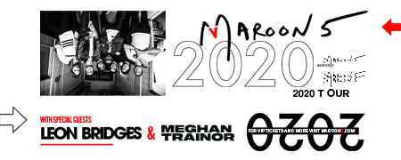 Maroon 5 Tour 2020.Maroon5 News Maroon 5 Announce 2020 North American Tour