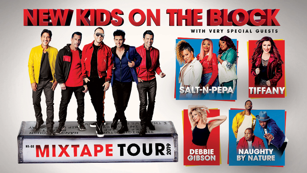 New Kids On The Block | News | NKOTB ANNOUNCE THE MIXTAPE