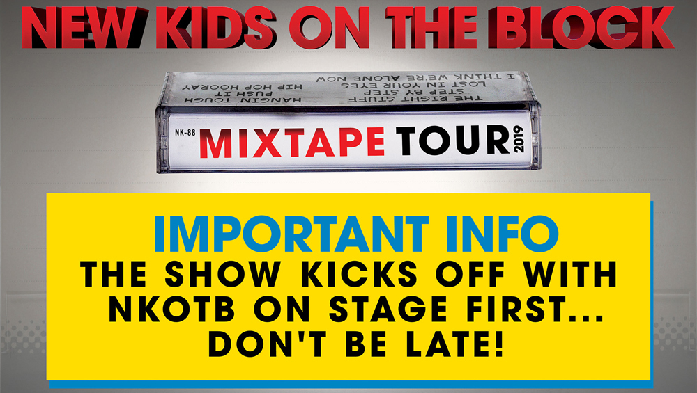 New Kids On The Block | News | Mixtape Tour On the Road
