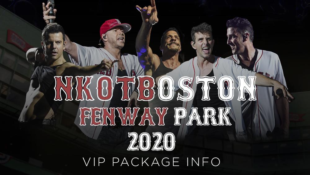 2020 Christmas At Fenway New Kids On The Block | News | NKOTB   Fenway Park 2020 VIP