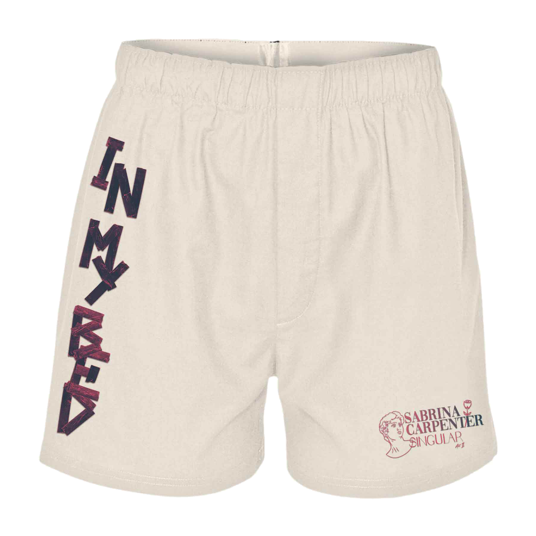 'IN MY BED' BOXER SHORTS