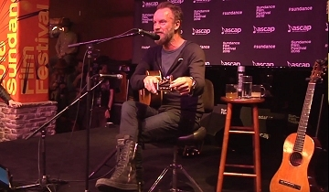 It Was An Evening Of Storytelling And Sting Had A Captive Audience Maybe The Intimate Setting That Inspired His Honesty Or Perhaps Bushy Beard