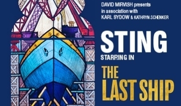 """5ebcb25cac280 In a media preview held on Thursday at the Princess of Wales Theatre for  The Last Ship, Sting is earnest and honest. """"I'm a little nervous, because  I got ..."""