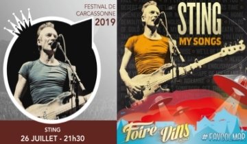 Cherrytree Management And Live Nation Have Confirmed That Sting My Songs Will Tour Europe Next Summer With Very Special Festival Concert Appearances