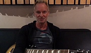 Later This Summer Sting Plans To Release A New Album Featuring Reimagined Versions Of Some His Best Known Songs Our First Taste It Comes With