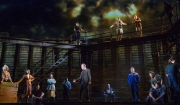 9d76d1fcaaf56 Having gone through a few revisions since it debuted on Broadway in 2014,  The Last Ship, currently playing at the Princess of Wales Theatre in  Toronto, ...