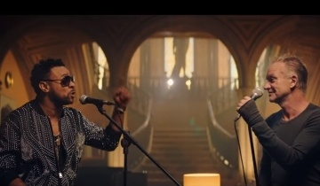 """c968d0b60fcd9 Taken from their GRAMMY-Award winning album, 44/876, Sting & Shaggy have  today launched a new video for their single, """"Just One Lifetime,"""" helmed by  ..."""