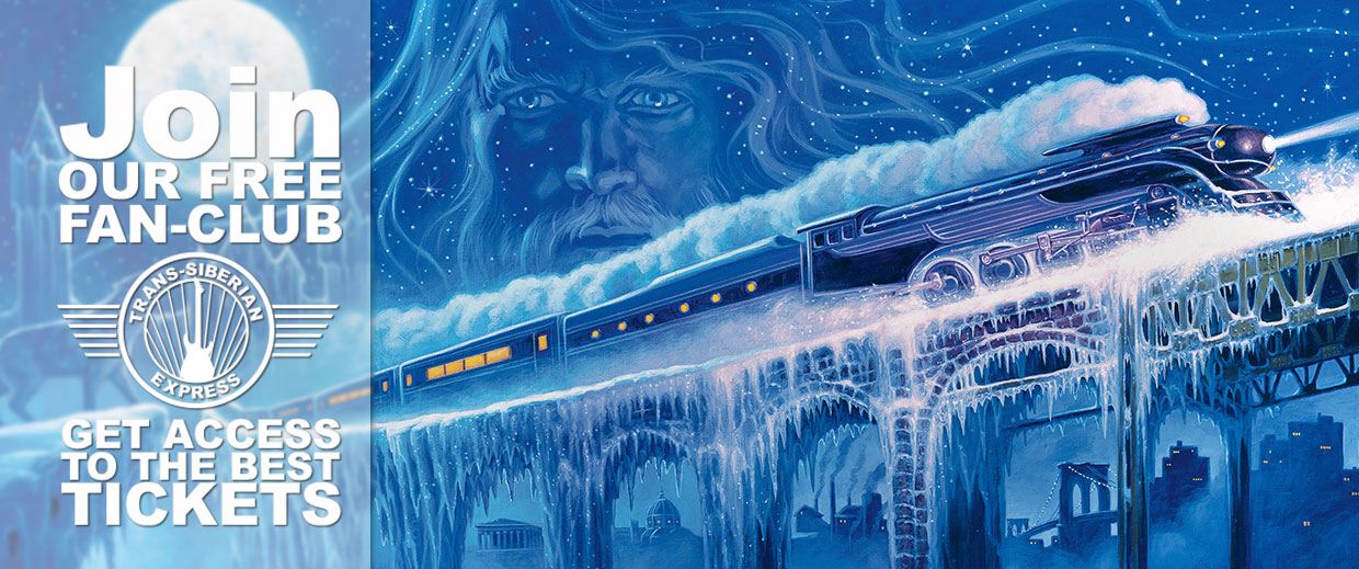 Join Trans-Siberian Express