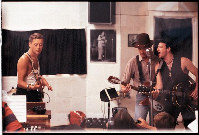 U2, recording in Sun Studio's