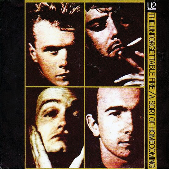 The Unforgettable Fire(Single)