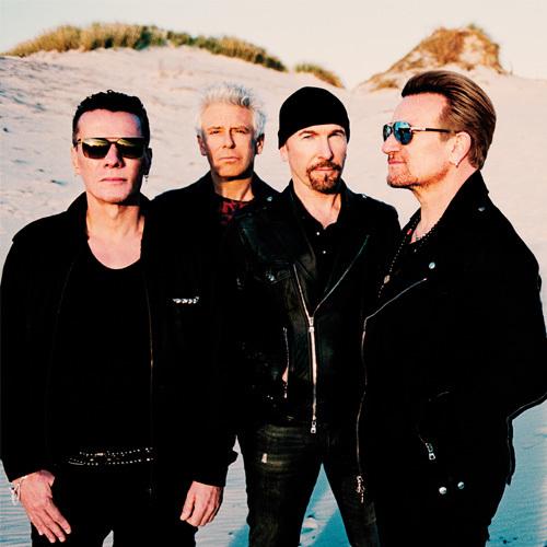 U2 artista irlandeses