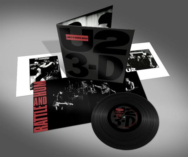 U2 > News > U2 3-D Dance Mixes