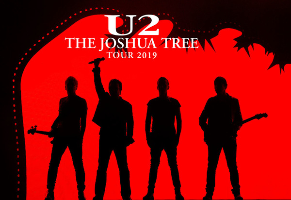 U2 > News > The Joshua Tree Tour 2019